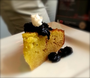 Olive oil cake. Literally my mouth is watering as I type this...