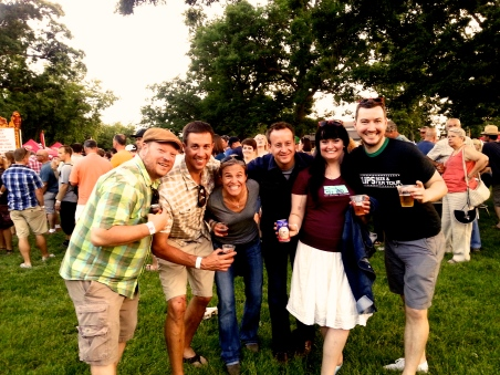 The New Belgium Crew. Livin' the dream...livin' the dream.