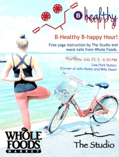 B-Healthy B-Happy Hour Digital Flyer