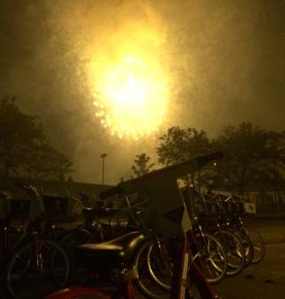 An explosive #beyondthebars view!